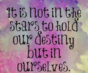 quotes, stars, and destiny image
