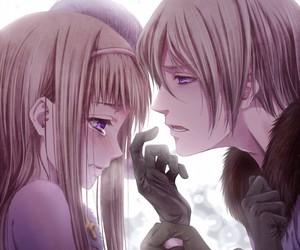 sad, cute, and love image