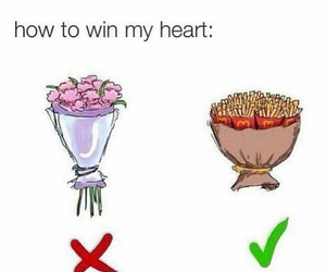drawing, fastfood, and flowers image