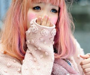 cute, kawaii, and girl image