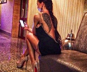 tattoo, fashion, and girl image