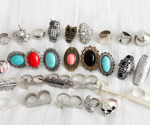 rings, ring, and style image