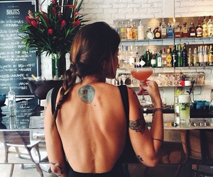 girl, tattoo, and summer image