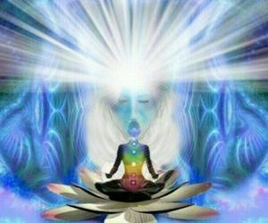 chakras, light, and lotos image