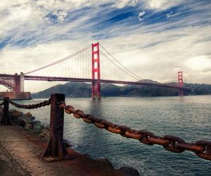travel, bridge, and place image