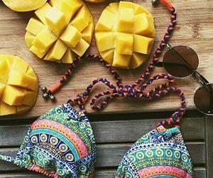 bikini, summer, and fruit image