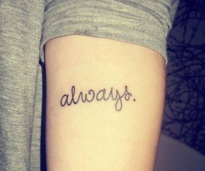 always and tattoo image