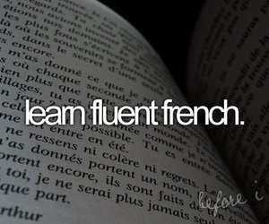 before i die, french, and bucket list image