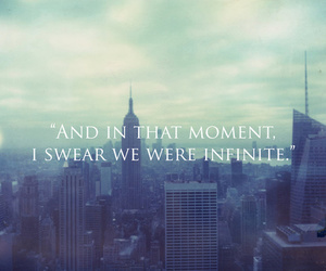 infinite, city, and quote image