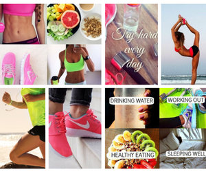 fitness, fitspiration, and healthy image