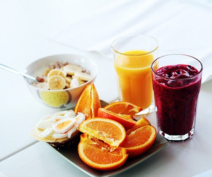 breakfast, healthy, and workout image
