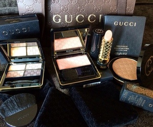 gucci, makeup, and luxury image