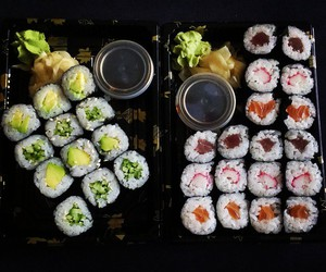 chef, food, and japanese food image