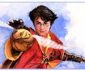 gryffindor, potter, and harry image
