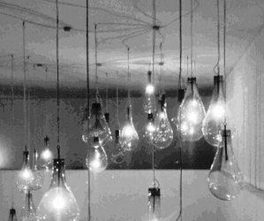 alone, light, and magic image