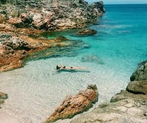 sea, summer, and girl image