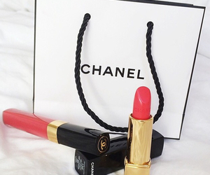 chanel, makeup, and girl image