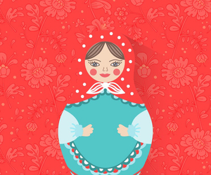 wallpaper, russian doll, and 2015 image