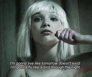 chandelier, tomorrow, and dance image