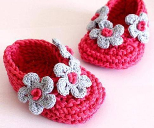 baby, crochet, and feet image