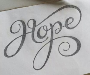 hope, draw, and art image