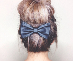 beauty, chignon, and coiffure image