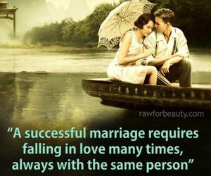 falling in love, marriage, and quote image