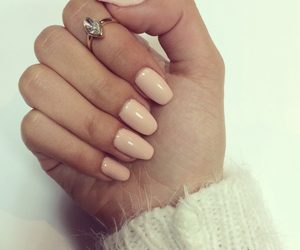gel, gel nails, and love image