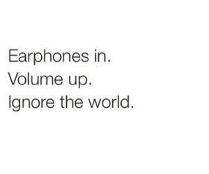 music, earphones, and world image