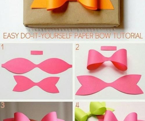 bow, Paper, and diy image