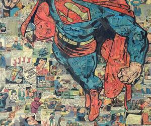 superman, comic, and wallpaper image