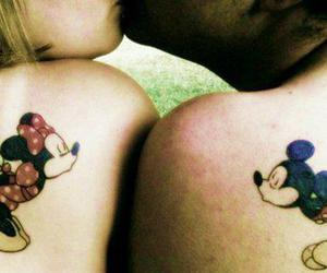 adorable, kiss, and micky mouse image