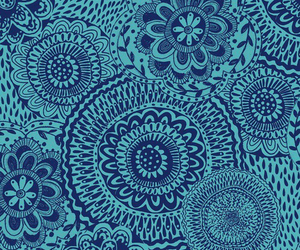 blue, wallpaper, and art image