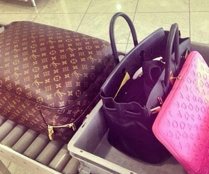 bag, fashion, and LV image
