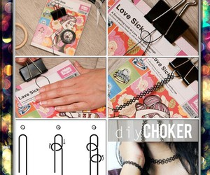 diy, choker, and tutorial image