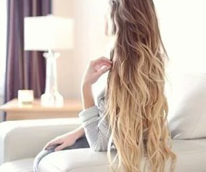 hair style, long hair, and beauty image