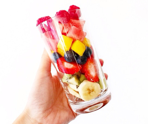 fruit, fit, and glass image