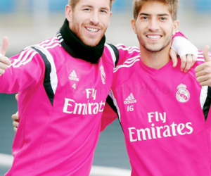 real madrid, sergio ramos, and lucas silva image