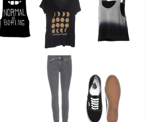 outfit, vans, and normalisboring image