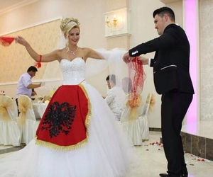 albanian, couple, and groom image