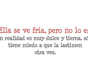 frase, girl, and word image