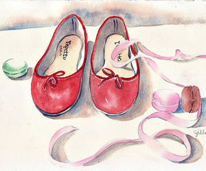 danse, repetto, and shoes image