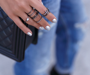 chanel bag, details, and street style image