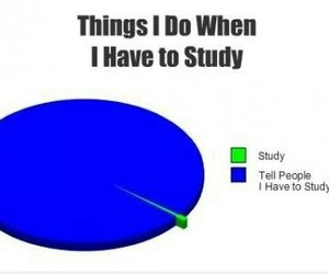 study, school, and funny image