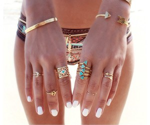 accessories, beach, and jewelry image