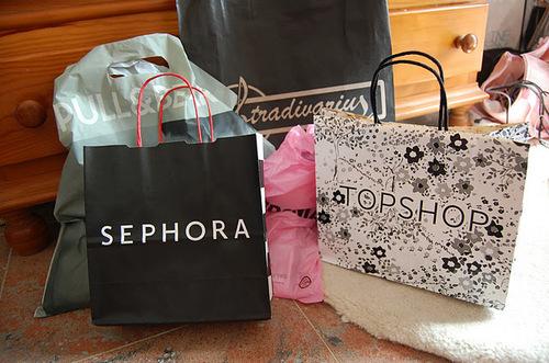 shopping, sephora, and fashion image