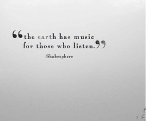 quotes, music, and earth image