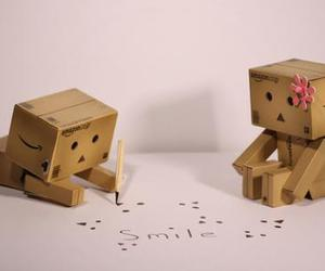 smile, danbo, and love image