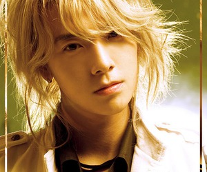 blonde, donghae, and pretty image