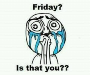 friday and funny image